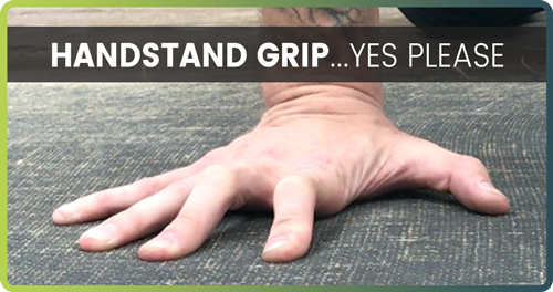 hand placement in handstand handstand grip