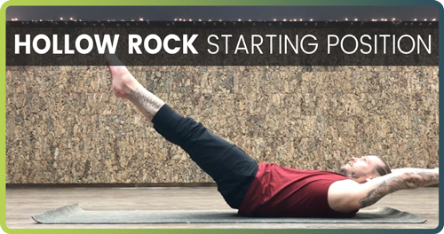 How To Do A Handstand Hollow Rock