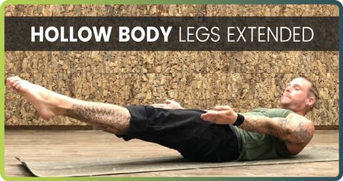 Hollow Body Legs extended