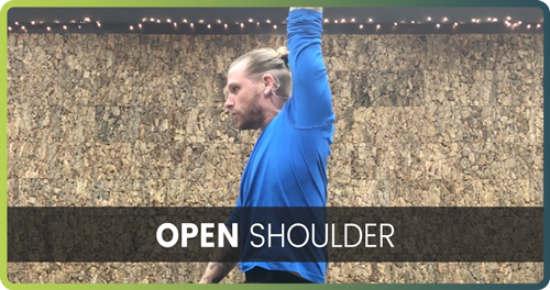 How to handstand open shoulders