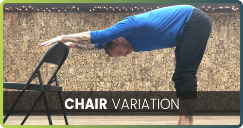 How to handstand chair variation