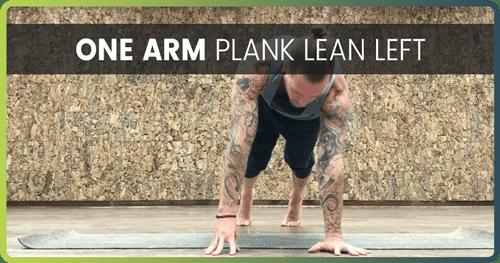 Handstand Drills Plank Lean 1