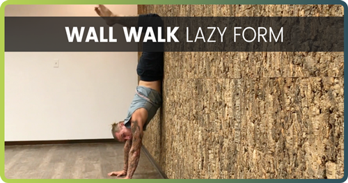 Handstand Drills Wall Walk 2