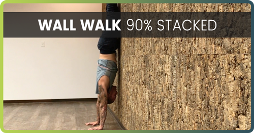 Handstand Drills Wall Walk 3