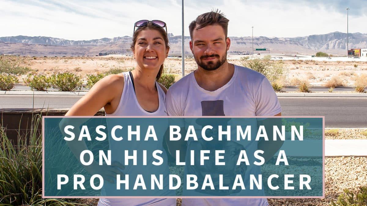 Sascha Bachmann, a Pro Handstand Performer