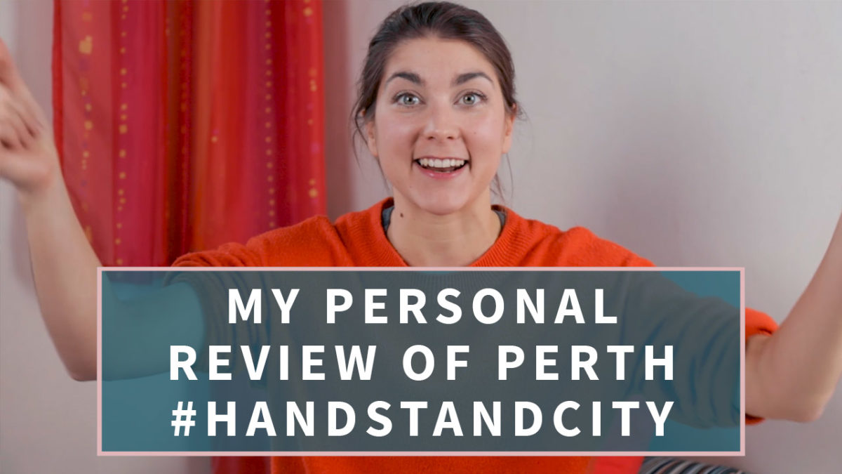 Perth, the Handstand city