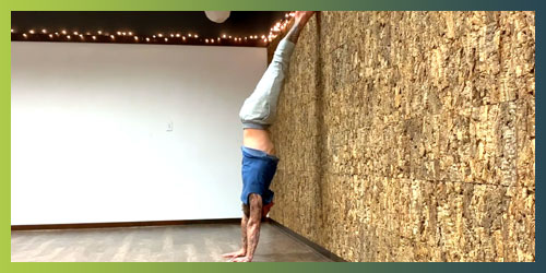 Handstand Training Video 3