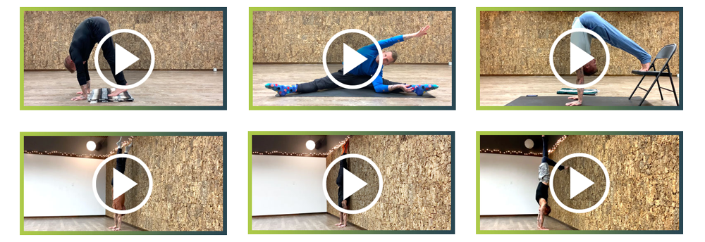 Handstand Course Phase Layout